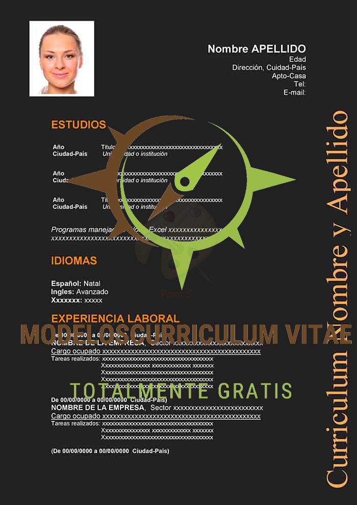 curriculum-vitae-inusual-naranja-p1